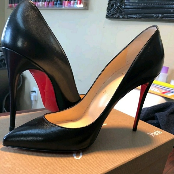 new product 7bccd 9dee8 Christian Louboutin So Kate Leather Pumps NWT